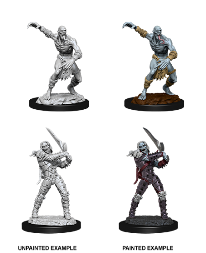 Wight & Ghast: D&D Nolzur's Marvelous Unpainted Miniatures